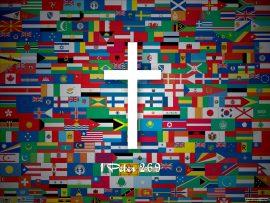 Papel de parede Cristo para as Nações