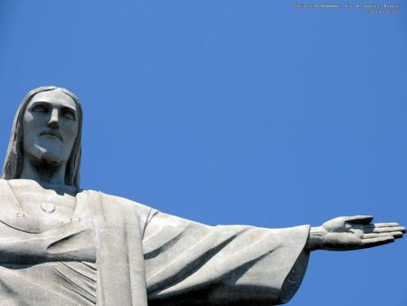 Papel de parede Cristo Redentor – Estátua para download gratuito. Use no computador pc, mac, macbook, celular, smartphone, iPhone, onde quiser!