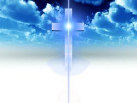 Papel de parede Cruz e a luz