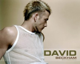 Papel de parede David Beckham