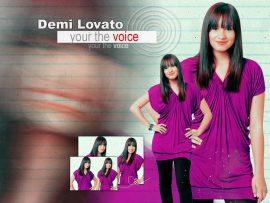Papel de parede Demi Lovato – Bonita