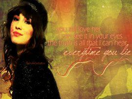 Papel de parede Demi Lovato – Música
