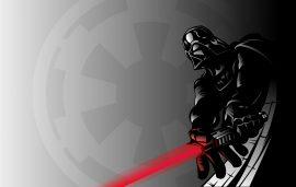 Papel de parede Desenho Darth Vader