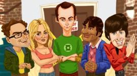 Papel de parede Desenho – The Big Bang Theory