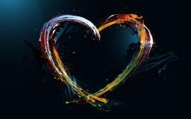 Papel de parede Design de Amor