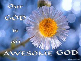 Papel de parede Deus é incrível