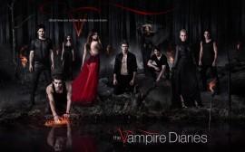 Papel de parede Diários de Um Vampiro, Elenco Completo