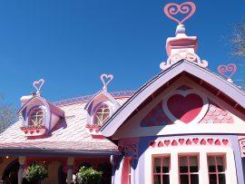 Papel de parede Disney World – Casa da Minnie