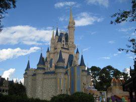 Papel de parede Disney World – Castelo da Cinderela