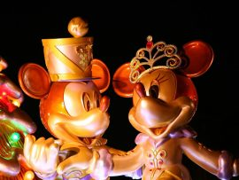 Papel de parede Disney World – Mickey e Minnie