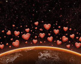 Papel de parede Dizendo Te amo no mundo