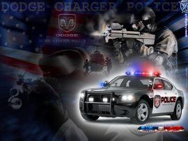 Papel de parede Dodge da polícia