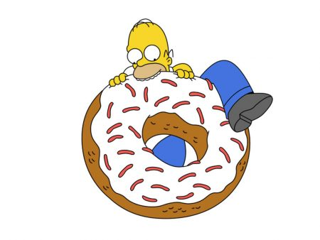 Papel de parede Donnuts! para download gratuito. Use no computador pc, mac, macbook, celular, smartphone, iPhone, onde quiser!