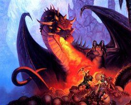 Papel de parede Dragão – Em Guerra