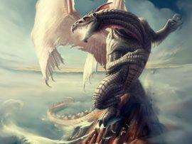Papel de parede Dragão – Medieval