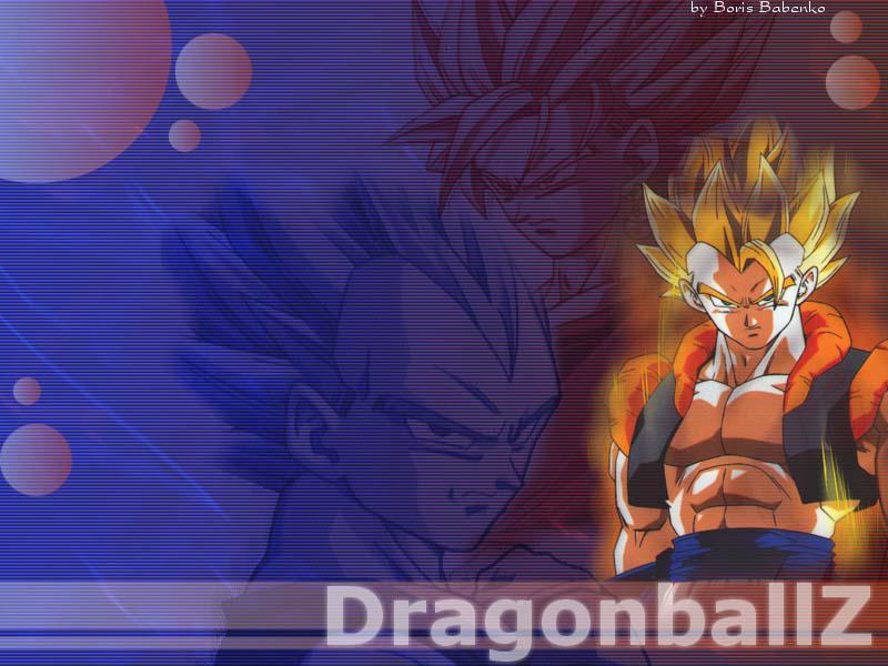 Papel De Parede Dragon Ball Z Goku E Vedeta Wallpaper Para
