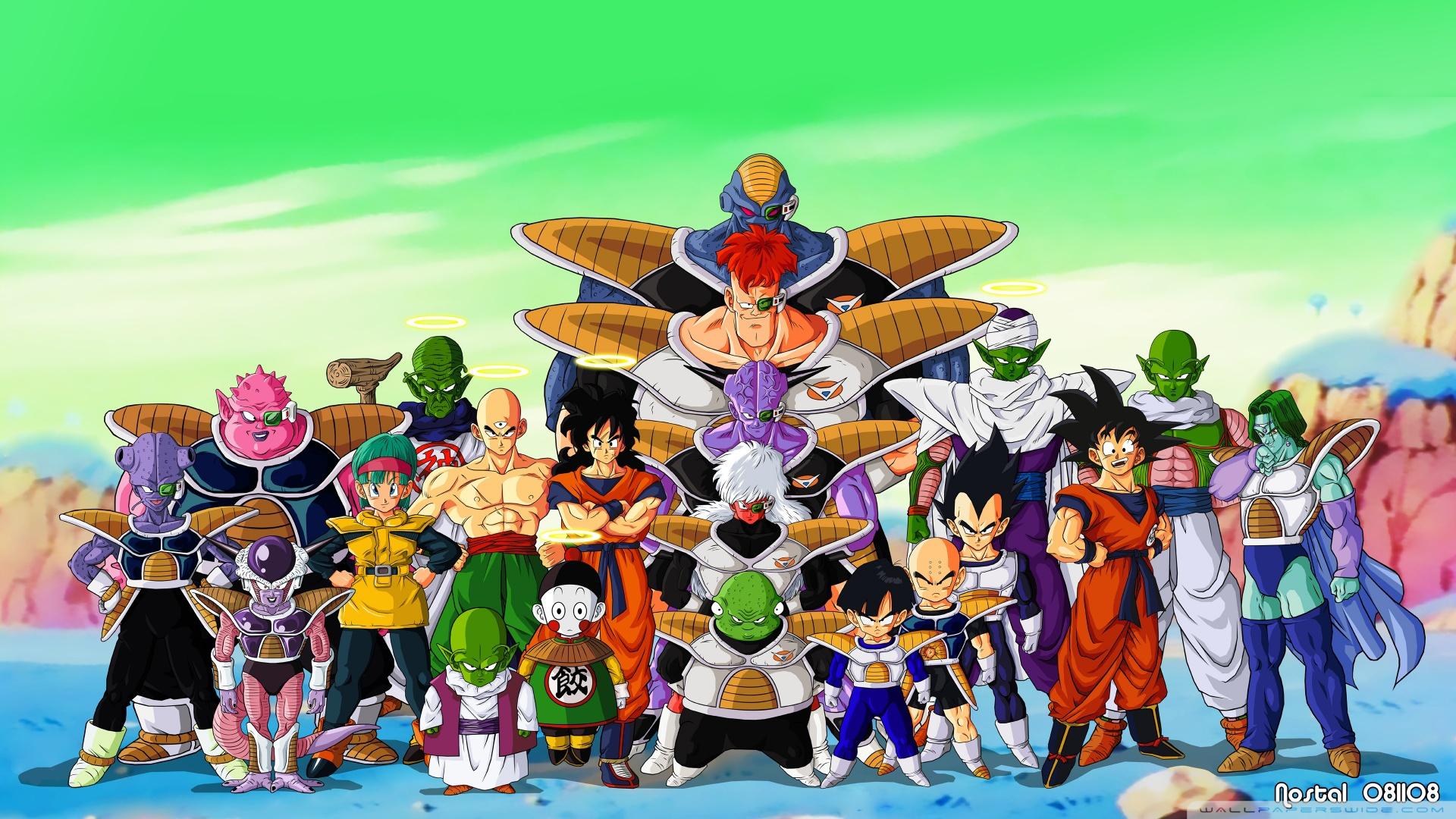 Papel De Parede Dragon Ball Z
