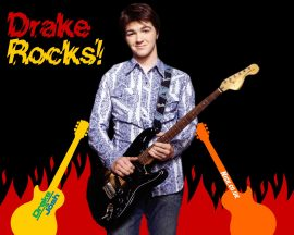 Papel de parede Drake e Josh – Drake Rocks