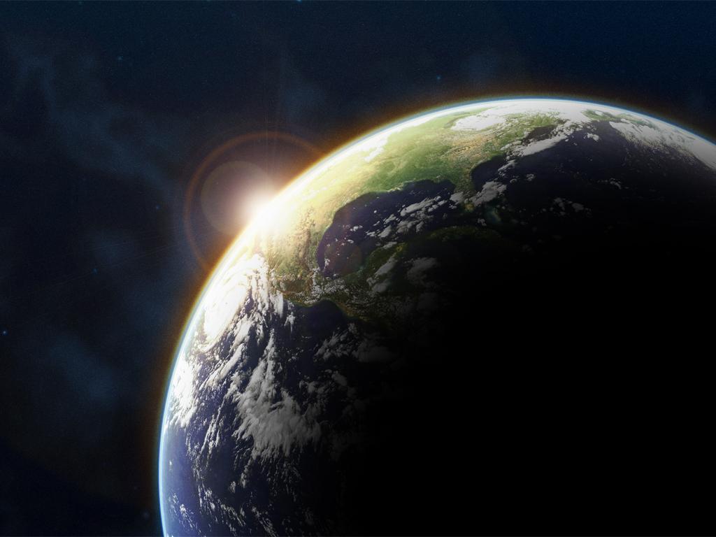 Papel de parede Terra durante eclipse solar para download gratuito. Use no computador pc, mac, macbook, celular, smartphone, iPhone, onde quiser!