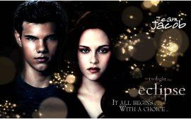 Papel de parede Eclipse – Bella e Jacob
