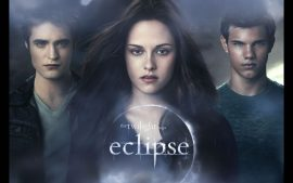 Papel de parede Eclipse – Bella, Edward e Jacob