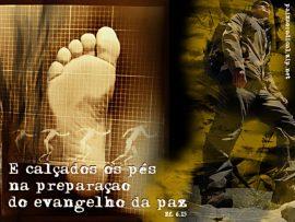 Papel de parede Efésios 6:15