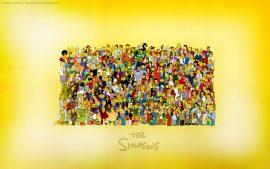 Papel de parede Elenco dos Simpsons
