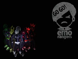Papel de parede Emo Rangers