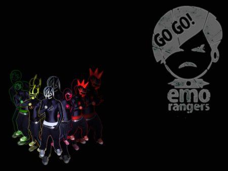 Papel de parede Emo Rangers para download gratuito. Use no computador pc, mac, macbook, celular, smartphone, iPhone, onde quiser!