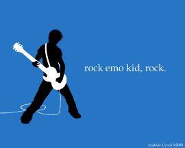 Papel de parede Emo, Rock!