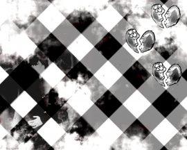 Papel de parede Emo Xadrez