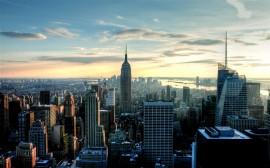 Papel de parede Vista para o Empire State Building