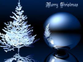 Papel de parede Enfeite de Natal – Com a Árvore
