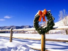 Papel de parede Enfeite de Natal