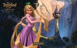 Papel de parede Rapunzel – O Filme