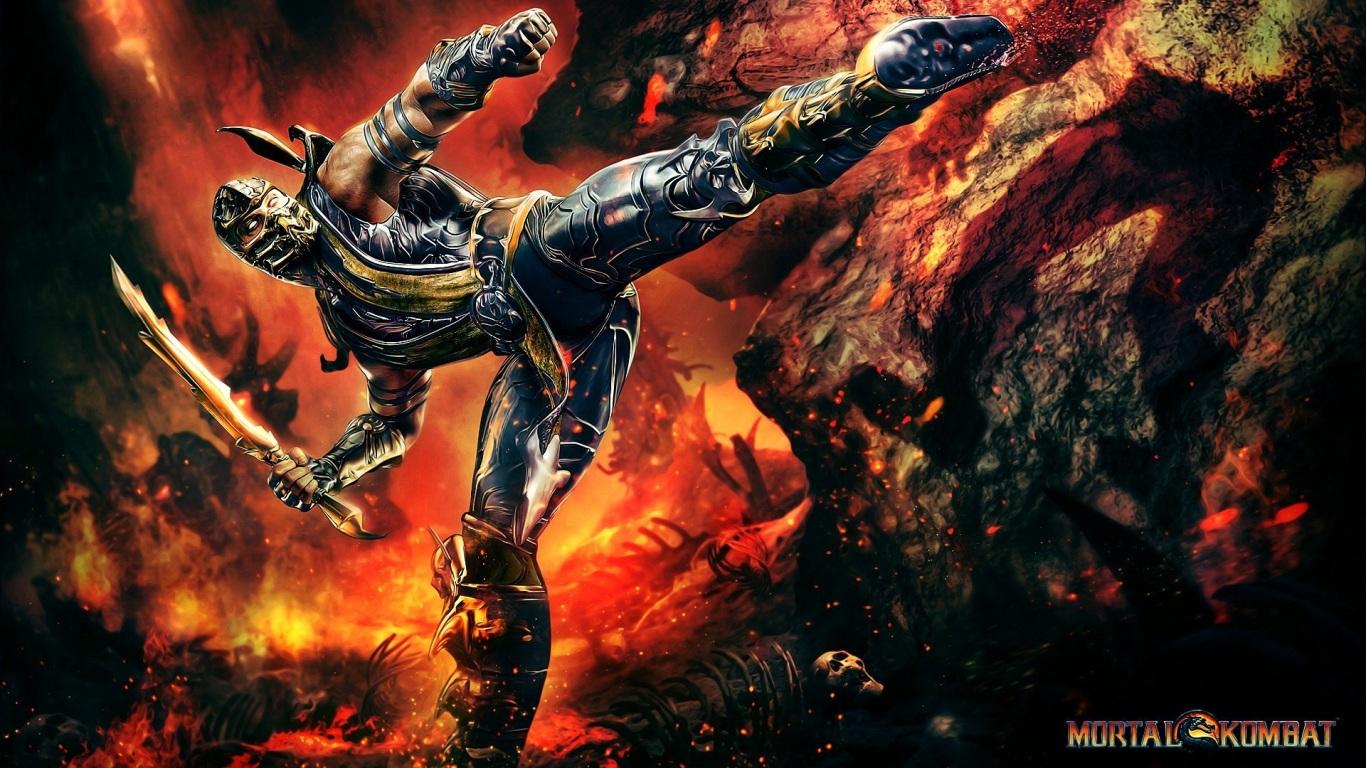 Aparador Antiguo Pintado ~ Papel de Parede Escorpion Mortal Kombat Wallpaper para Download no Celular ou Computador PC
