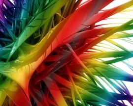 Papel de parede Espetos de Coloridos