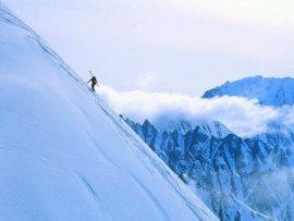 Papel de parede Esqui #2