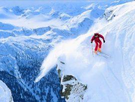 Papel de parede Esqui #7