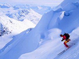 Papel de parede Esqui #8