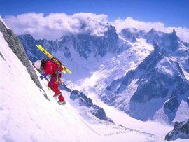 Papel de parede Esqui #9