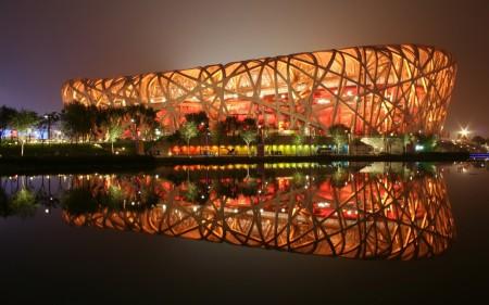Papel de parede Estádio Nacional de Beijing, China para download gratuito. Use no computador pc, mac, macbook, celular, smartphone, iPhone, onde quiser!