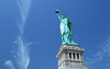 Papel de parede Estátua da Libertade, Nova Iorque para download gratuito. Use no computador pc, mac, macbook, celular, smartphone, iPhone, onde quiser!