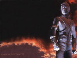Papel de parede Estátua de Michael