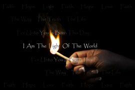 Papel de parede Eu sou a luz do mundo