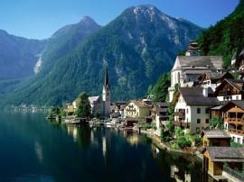 Papel de parede Europa: Montanha e Cidadela
