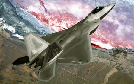 Papel de parede Caça F-22 Raptor para download gratuito. Use no computador pc, mac, macbook, celular, smartphone, iPhone, onde quiser!