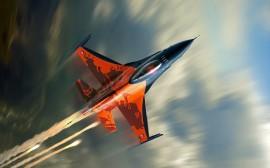 Papel de parede Caça F-16 Fighting Falcon