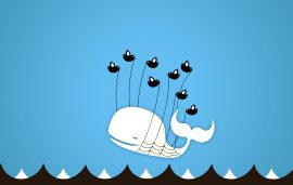 Papel de parede Fail Whale – Azul