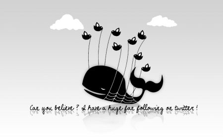 Papel de parede Fail Whale – Preto e Branco para download gratuito. Use no computador pc, mac, macbook, celular, smartphone, iPhone, onde quiser!
